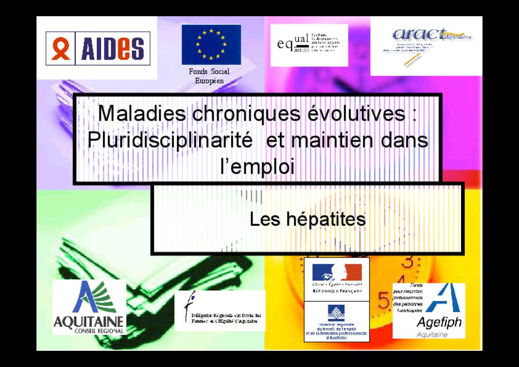 Hépatites virales | Travail & Maladies Chroniques Évolutives